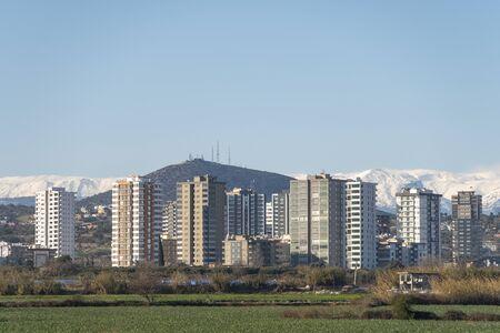 Apartment Buildings From Tarsus, Mersin, Turkey