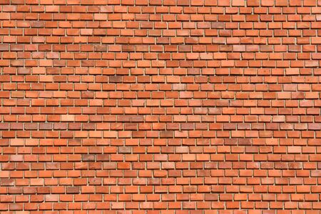 Red Brick Wall Background Image Banco de Imagens