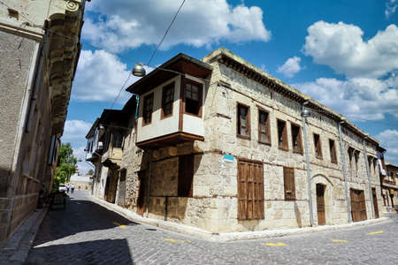Old Street And Houses From Tarsus, Mersin, Turkey