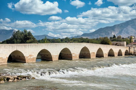 Misis Bridge at Yumurtalik, Adana, Turkey