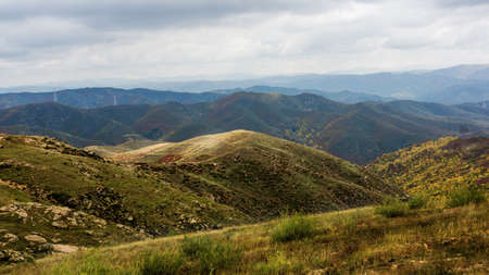 distant spot: Mountain scenery.