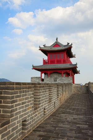 Chinas city wall tower
