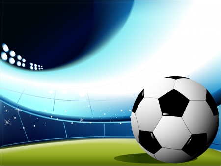 team sport: Abstract football background  Illustration
