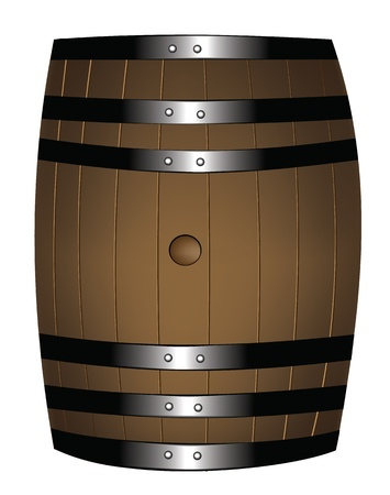 beer barrel: Barrel of wine