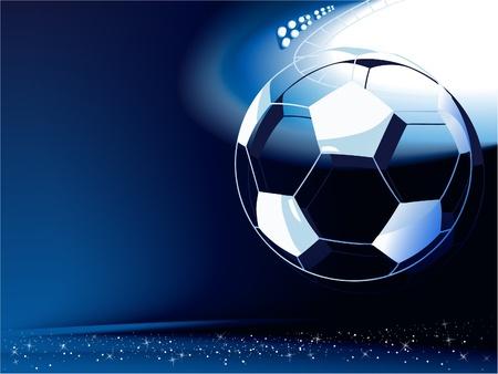 Resumen de antecedentes de fútbol Vectores