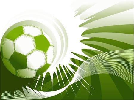Football grunge background Stock Vector - 14093965