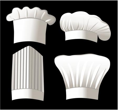 Four chef hats Zdjęcie Seryjne - 14093987