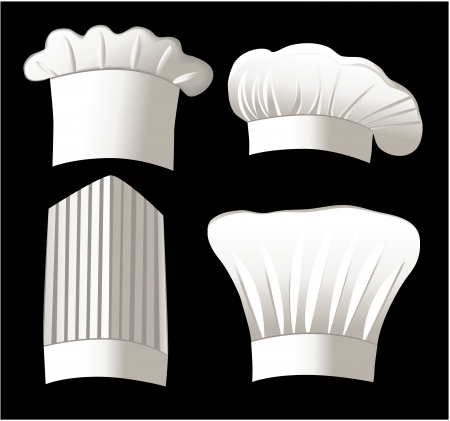 Four chef hats