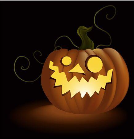 Halloween pumpkin Stock Vector - 14093989