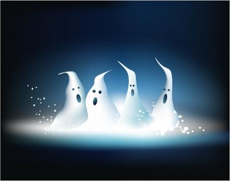 ghastly: Ghosts Illustration