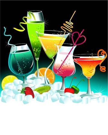 coctel de frutas: Juego de las bebidas
