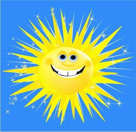 Holiday sun Stock Vector - 14093985