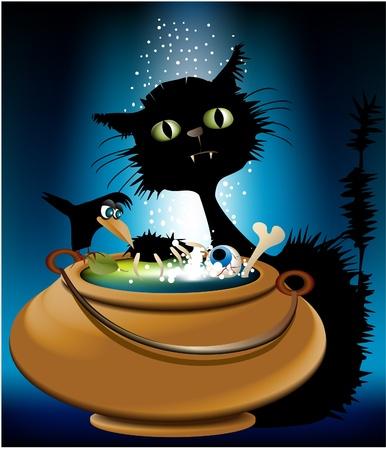 ghastly: Halloween magic animals