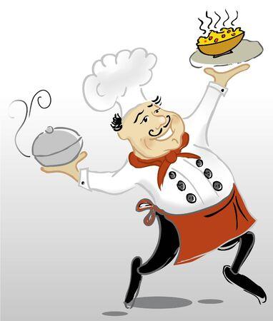supper: Cook  Illustration