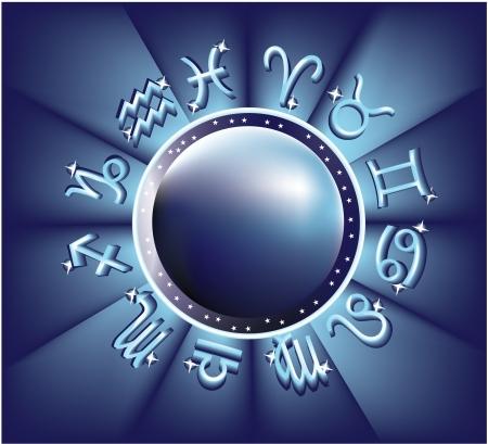 omen: Horoscope Illustration