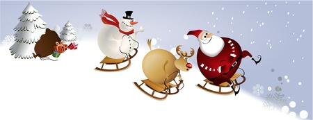 큰 크리스마스 재미