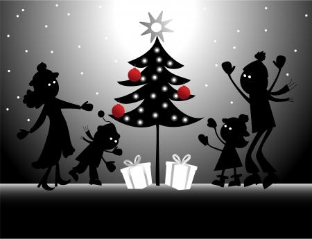 Christmas holidays Stock Vector - 15991032