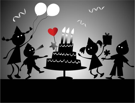 Birthday party  Stock Vector - 15991029
