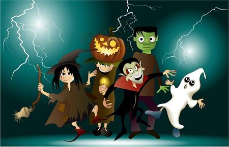 harridan: Halloween party