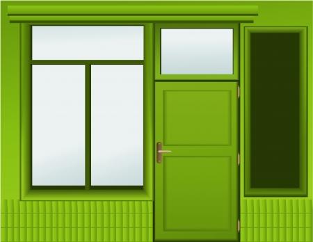 boutique shop: Shop window