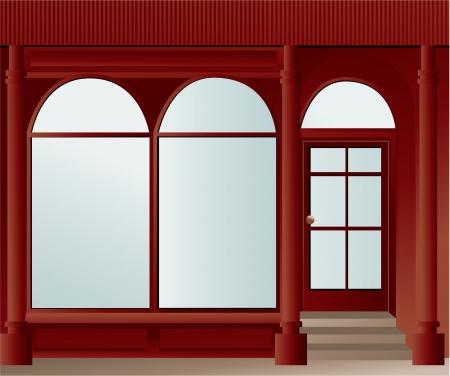 Shop window Stock Vector - 17236002