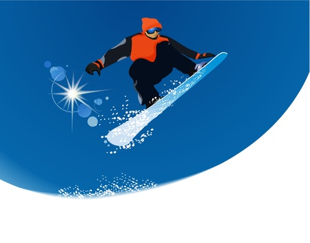 Snowboarder Stock Vector - 17694919