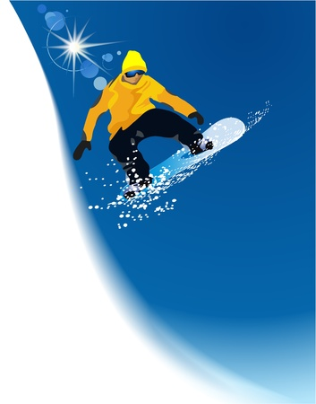 Snowboarder Stock Vector - 17694925