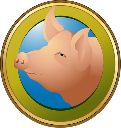 Pig Stock Vector - 17694922