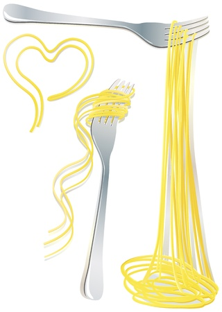Pasta on the fork