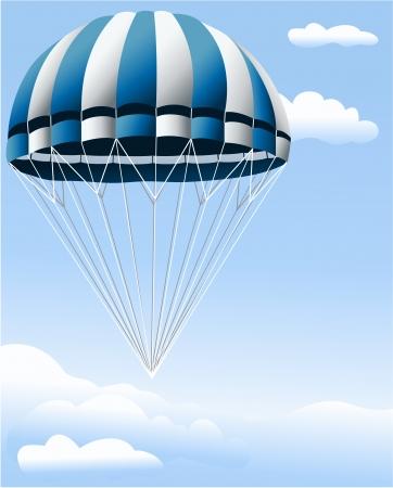 airplay: Parachute Illustration