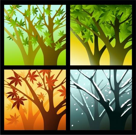 four seasons: Four seasons