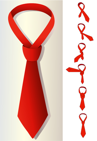 windsor: Tie and knot instructions