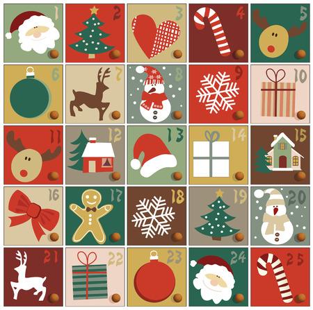 december kalender: ADVENTKALENDER