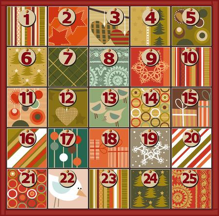 cyfra: Adwentowy kalendarz
