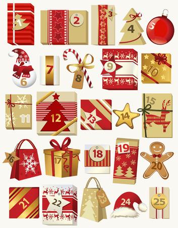 december calendar: Advent calendar