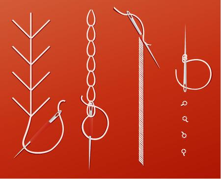 needles: Needles and threads