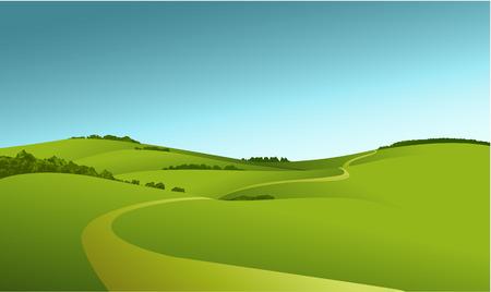 nature landscape: rural landscape