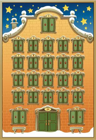 kalendarium: Adwentowy kalendarz