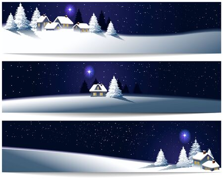 celebrities: Winter Christmas banners