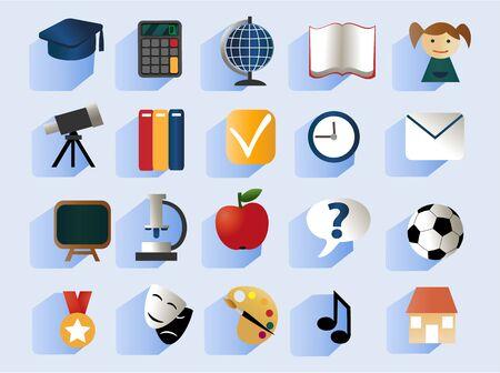school: school icons