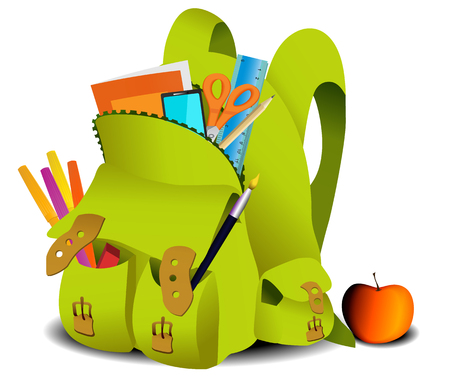 school: school bag