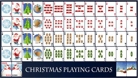 linkedin: Christmas playing cards