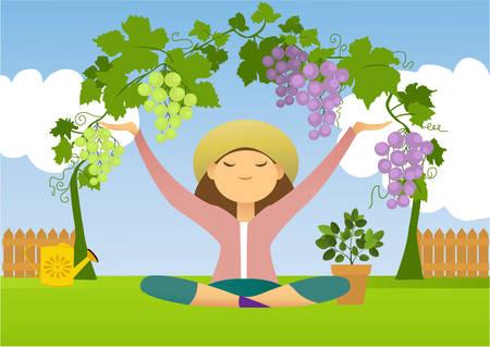 趣味の園芸と瞑想の喜び
