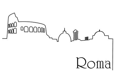 Sketch of Roma City.