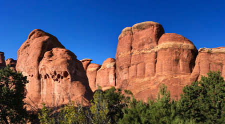 sight seeing: Arches National Park Rocks Stock Photo