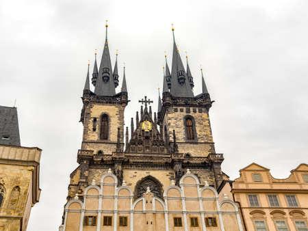Church of Our Lady before Tyn, Prague Czech Republic