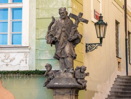 John of Nepomuk - Prague corner Sajtókép