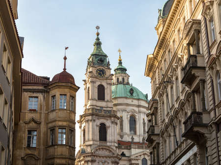 The Church of St Nicholas in Prague -  Capital City of the Czech Republic, Baroque Architecture