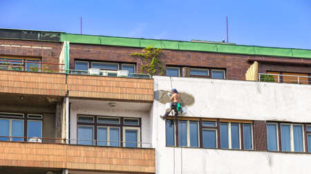 Reconstruction of an European Apartment Building, Repair of Building Flat Facade
