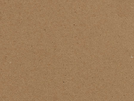 Blank, Brown Cardboard with Visible Texture of the Paper